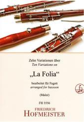 10 Variationen über 'La Folia' für Fagott