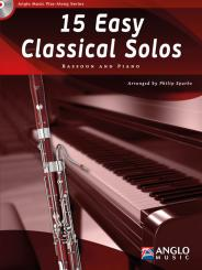 15 easy classical Solos (+CD) for bassoon and piano