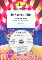 20 sacred Hits (+CD) for bassoon