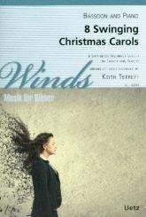 8 swinging Christmas Carols für Fagott und Klavier