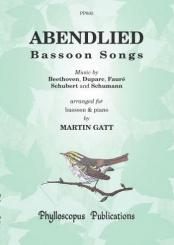 Abendlied for bassoon and piano