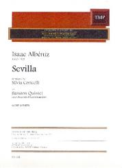 Albéniz, Isaac Manuel: Sevilla for 4 bassoons and contrabassoon, score and parts