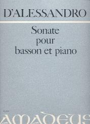 Alessandro, Raffaele d': Sonate op.76 für Fagott und Klavier