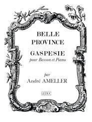 Amellér, André: Gaspesie pour basson et piano