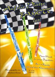 Auf die Plätze Fagott los Band 1 für 1-4 Fagotte und Klavier, Partitur und Stimmen