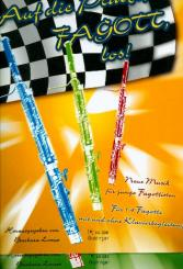 Auf die Plätze Fagott los Band 1 und 2 (+CD) für 1-4 Fagotte und Klavier, Partitur und Stimmen