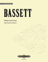 Bassett, Leslie: Metamorphoses for bassoon