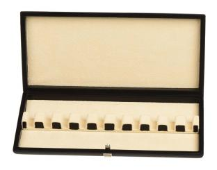 Case for 10 bassoon reeds (leather)