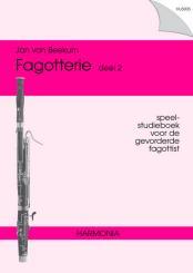 Beekum, Jan van: Fagotterie vol.2 Speel-studieboek voor de gevorderde fagottist