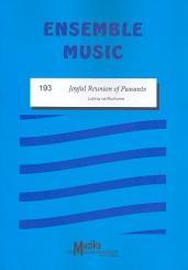 Beethoven, Ludwig van: Joyful Reunion of Peasants für gem Ensemble, Partitur und Stimmen