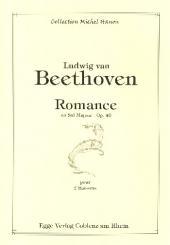 Beethoven, Ludwig van: Romanze G-Dur op.40 für 2 Fagotte, Partitur und Stimmen