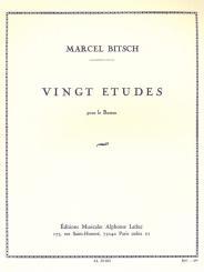 Bitsch, Marcel: 20 etudes pour bassoon