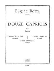 Bozza, Eugène: 12 caprices pour basson