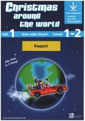 Christmas around the World vol.1 (+Online Audio) für 1-2 Fagotte