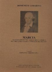 Cimarosa, Domenico: Marcia für 2 Oboen, 2 Klarinetten, 2 Hörner und 2 Fagotte, Partitur