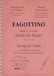 Fagottino-Schule für Kinder Band 1 mit Volkslieder und Stückchen zum, Ensemblespiel