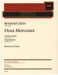 Glière, Reinhold: Deux Morceaux for bassoon and piano