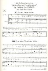 Hasenzahl, Oliver: Meister Lampes Fagottinoschule Band 1 Klavierbegleitung (für Quartfagott, und Quintfagott)