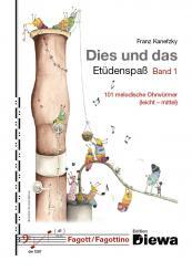 Kanefzky, Franz: Dies und das - Etüdenspaß Band 1 für Fagott
