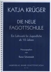 Krüger, Katja: Die neue Fagottschule Spiralbindung