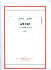 Lauber, Joseph: Sonatine pour basson et harpe