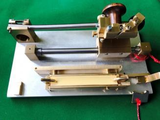 Innenhobelmaschine für Fagott, Kunibert Michel
