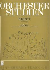 Mozart, Wolfgang Amadeus: Orchesterstudien für Fagott Sinfonien, Serenaden, Divertimenti, Chorwerke