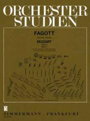 Mozart, Wolfgang Amadeus: Orchesterstudien fagott Mozart-Opern Band 1