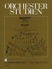 Mozart, Wolfgang Amadeus: Orchesterstudien Fagott Mozart Opern Band 2