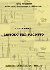 Penazzi, Sergio: Metodo per fagotto (it/en)
