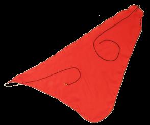 Wischer für Fagott Flügel/Stiefel, 1-teilig, Seide