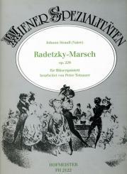 Strauß, Johann (Vater): Radetzky-Marsch op.228 für Flöte, Oboe, Klarinette, Horn und Fagott