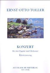 Toller, Ernst Otto: Konzert für 2 Fagotte und Klavier