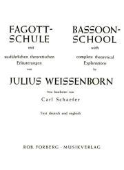 Weissenborn, Julius: Fagottschule mit theoretischen Erläuterungen